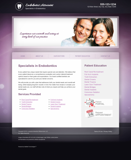 Endodontics Website Preview #15