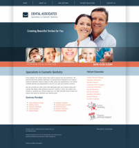 Cosmetic Dentistry Website Thumbnail #1