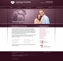 Cardiovascular Website Thumbnail #14