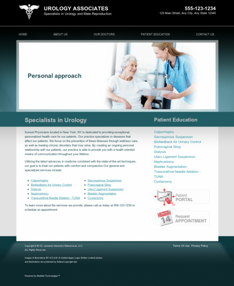Urology Website Preview #15