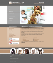Veterinary Website Thumbnail #16