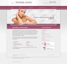 Dermatology Website Thumbnail #16