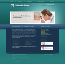 Otolaryngology Website Thumbnail #17