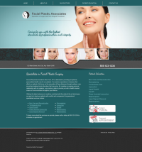 Facial Plastic Surgery Website Thumbnail #12