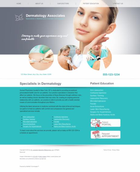 Dermatology Website Preview #17