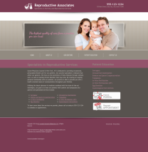 Reproductive Services Website Thumbnail #15