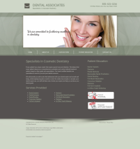 Cosmetic Dentistry Website Thumbnail #16