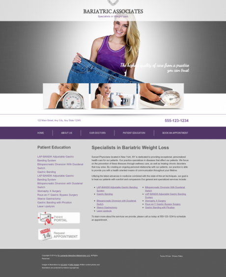 Bariatric Surgery Website Preview #17