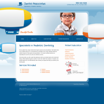 Pediatric Dentistry Website Thumbnail #17