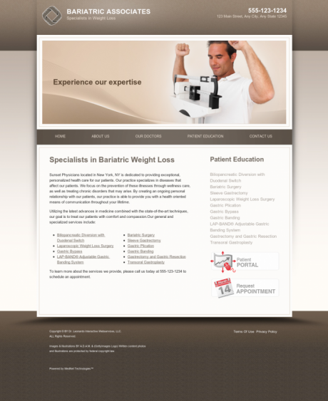 Bariatric Surgery Website Preview #18