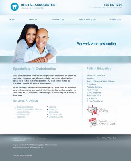 Endodontics Website Preview #18