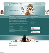 Veterinary Website Thumbnail #17
