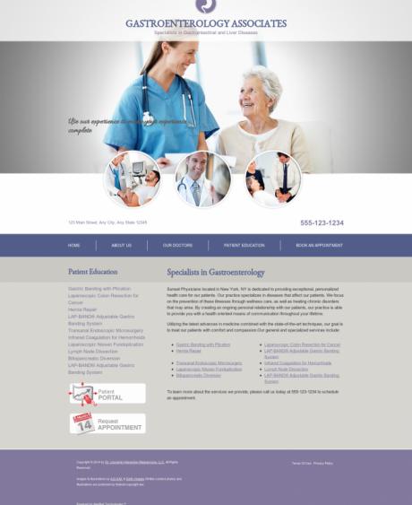 Gastroenterology Website Preview #17