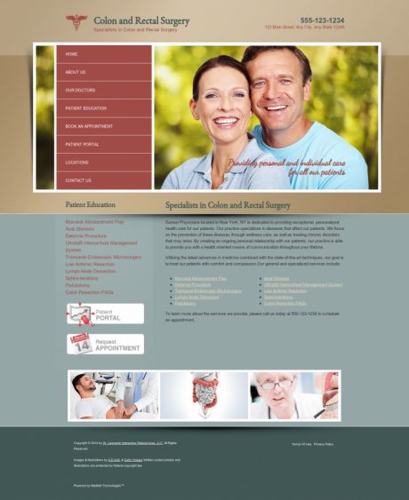 Colon & Rectal Surgery Website Preview #12