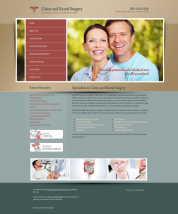 Colon & Rectal Surgery Website Thumbnail #12