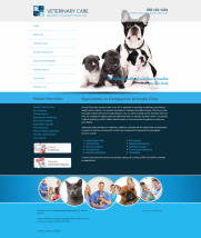 Veterinary Website Thumbnail #9