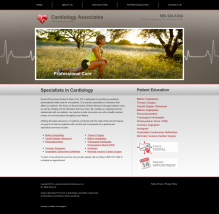 Cardiovascular Website Thumbnail #17