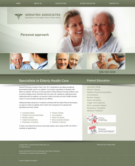 Internal Medicine Website Preview #18