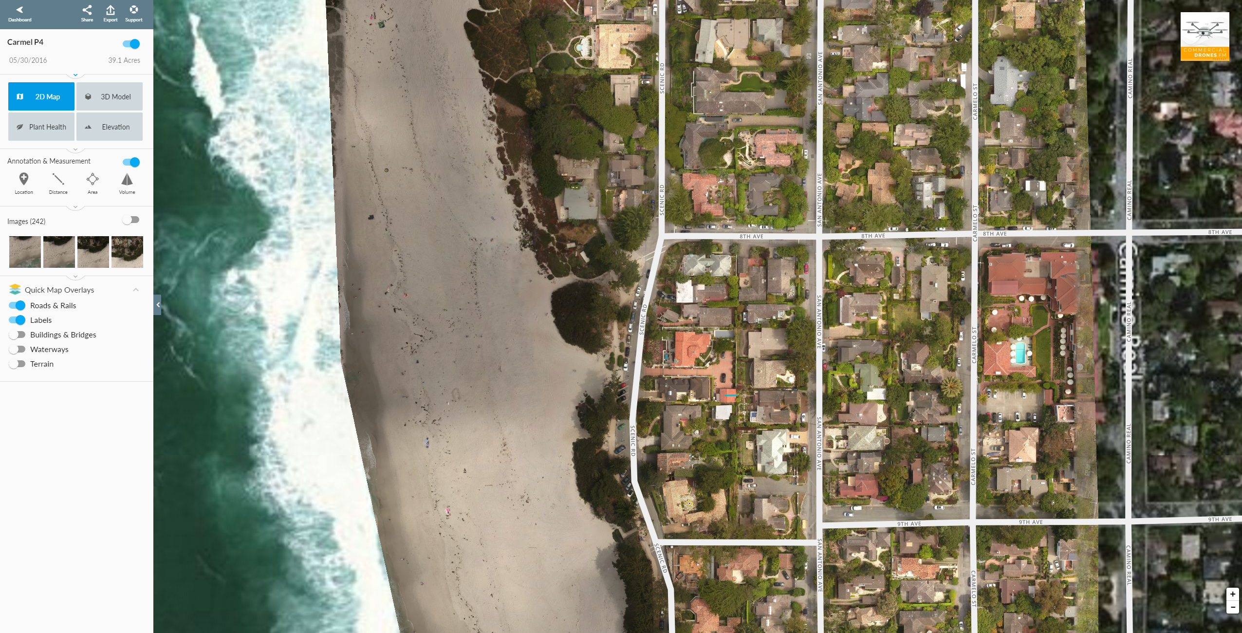 Quick Map Overlays App Market Dronedeploy