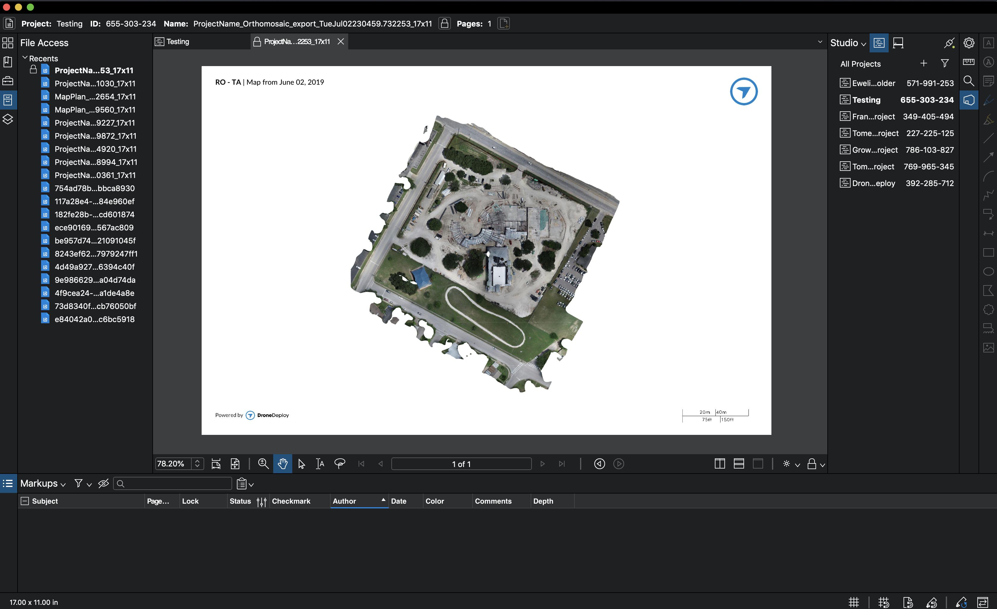 Bluebeam - App Market | DroneDeploy
