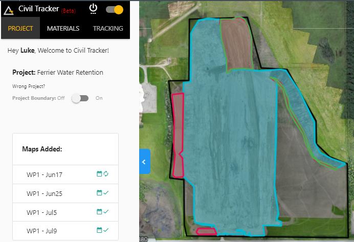 Civil Tracker - App Market | DroneDeploy