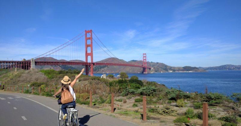 Paseo en bicicleta por san francisco