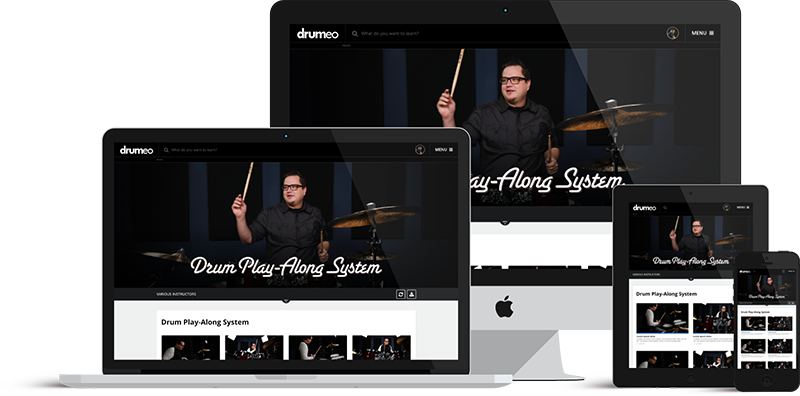 Drum Play-Along System