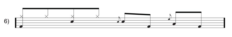 Common Rock Drum Fills for Beginners