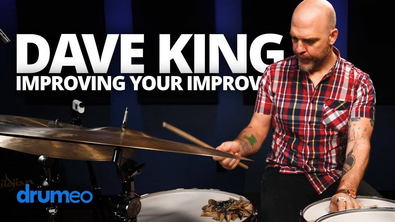 Dave King Drum Lessons