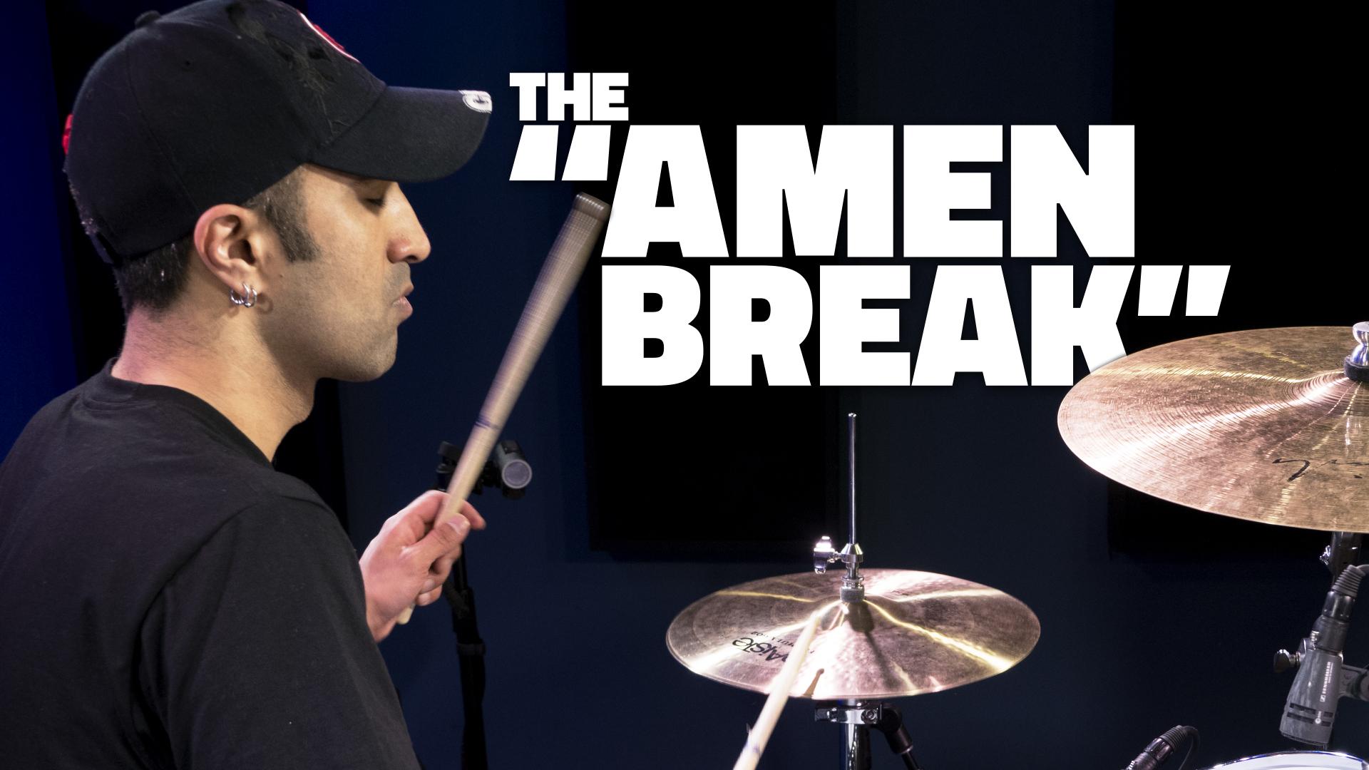 The Amen Break Beat Drum Lesson