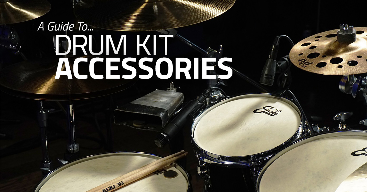Rick Long - Accessories For Your Drum Kit
