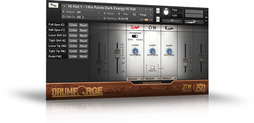 Drumforge I Hi Hat Advanced Page Kontakt Instrument