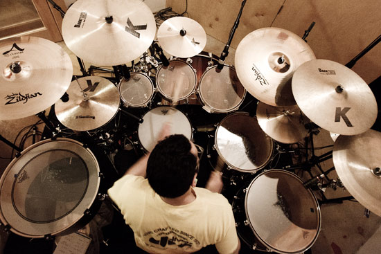 gil sharone pictures famous drummers. Black Bedroom Furniture Sets. Home Design Ideas