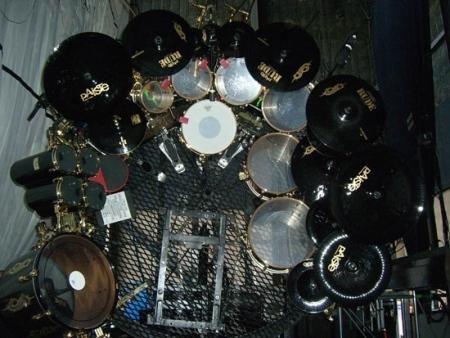joey jordison pictures famous drummers. Black Bedroom Furniture Sets. Home Design Ideas