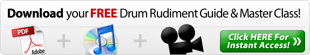 Drum Rudiment Master Class & Rudiment Guide