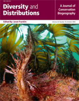 Diversity and Distributions cover