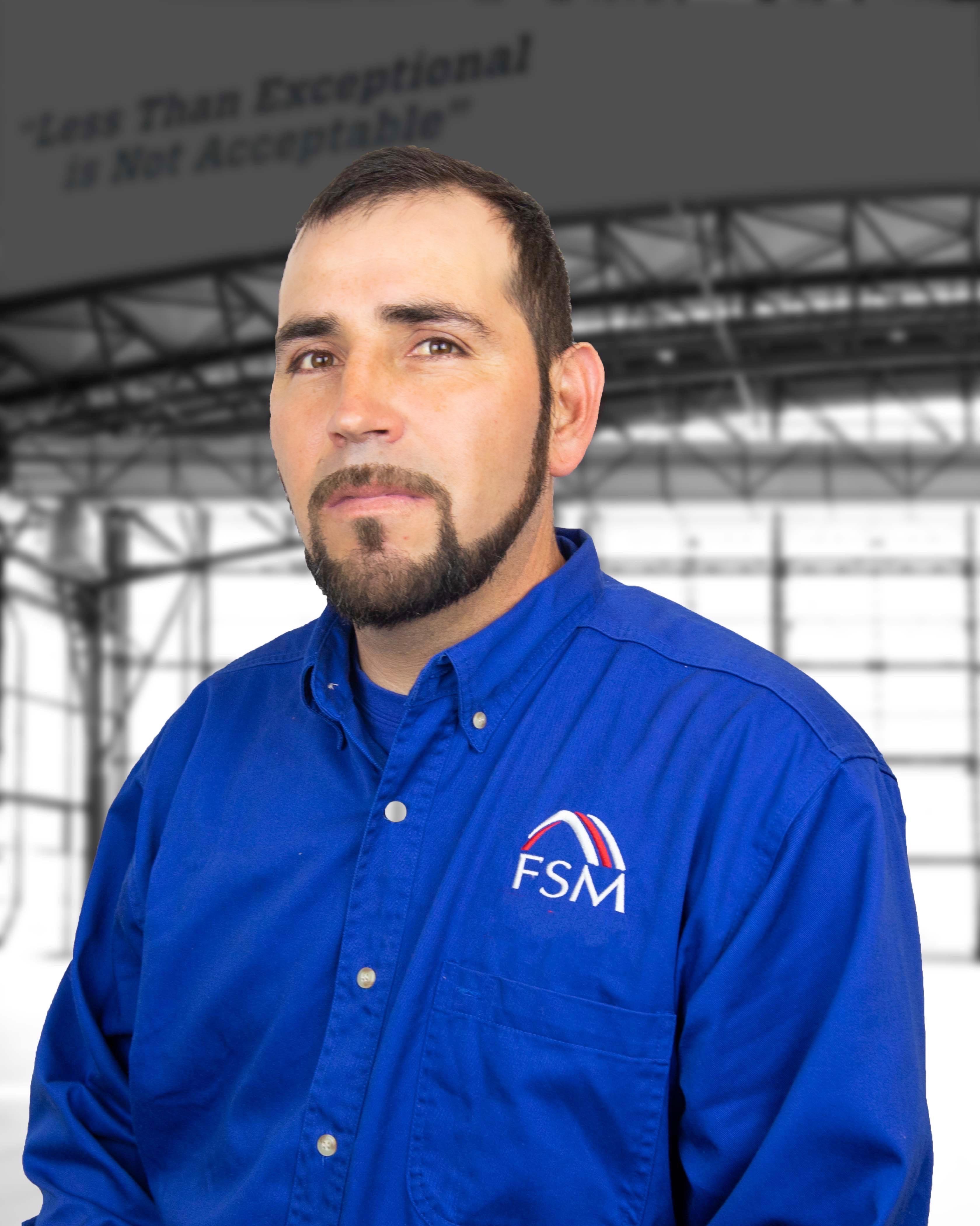 FSM Alejandro DeLaTorre Foreman