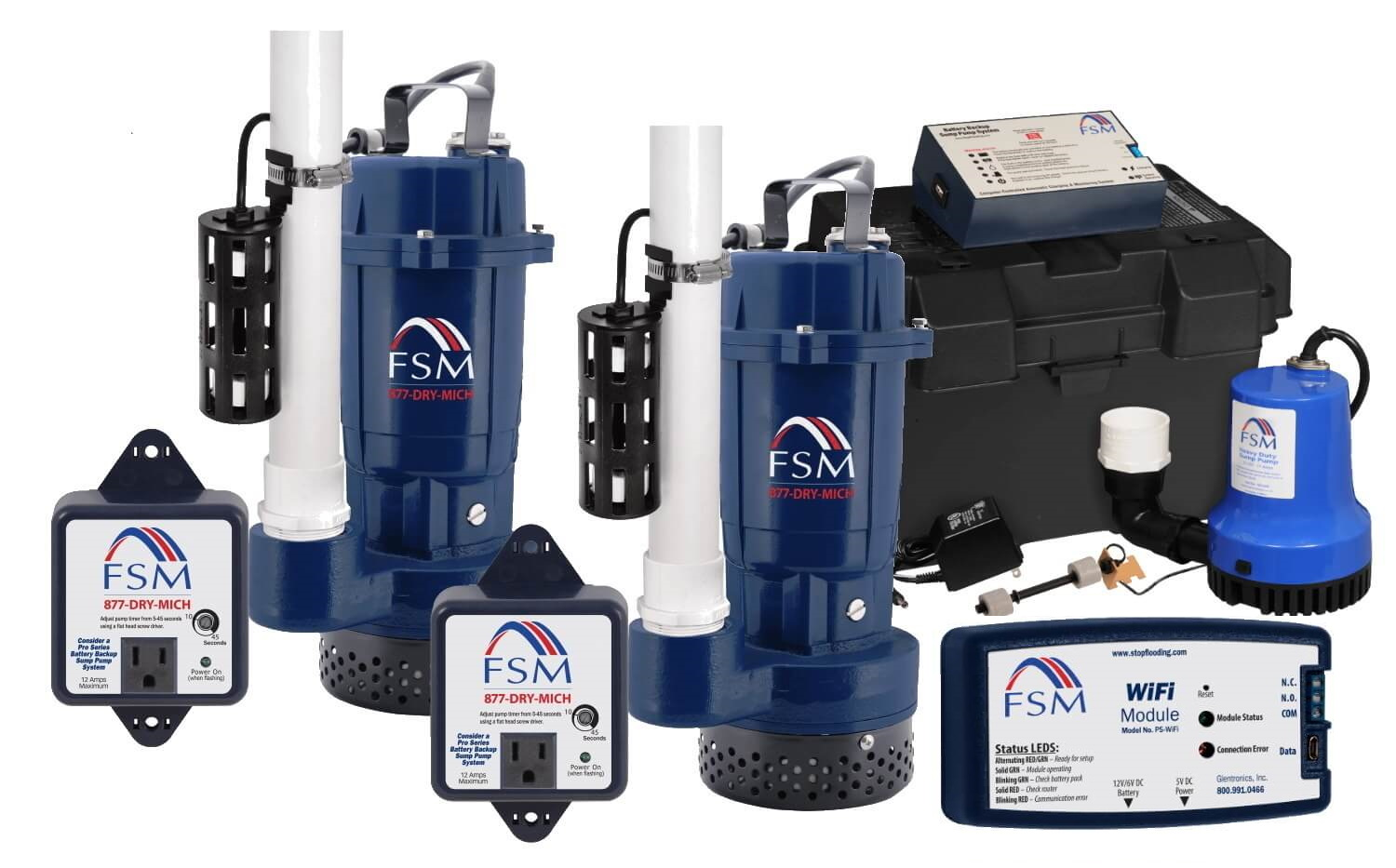 Our Sump Pump Systems