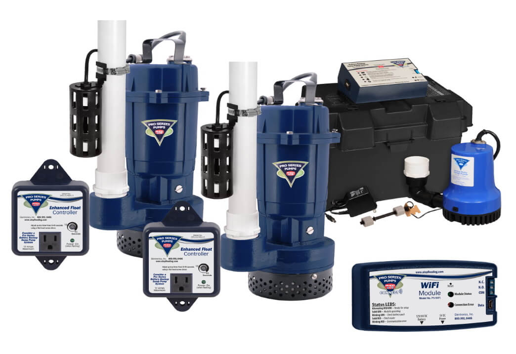 Pro Series Sump Pump Systems