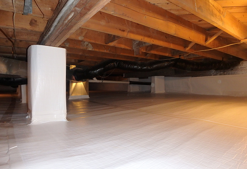 Crawl Space Encapsulation Foundation Systems Of Michigan
