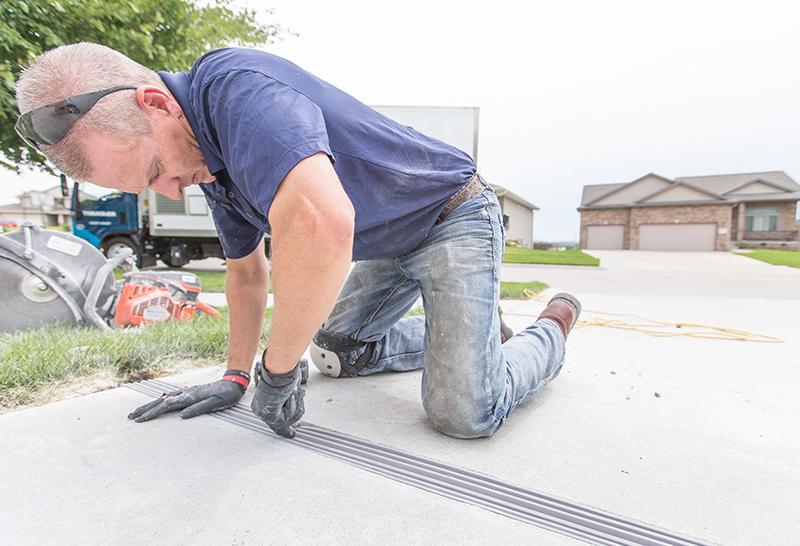 Street Creep Repair