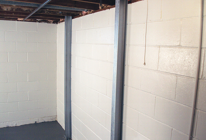 Wall Straightening