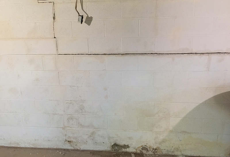 Cracked Foundation Walls
