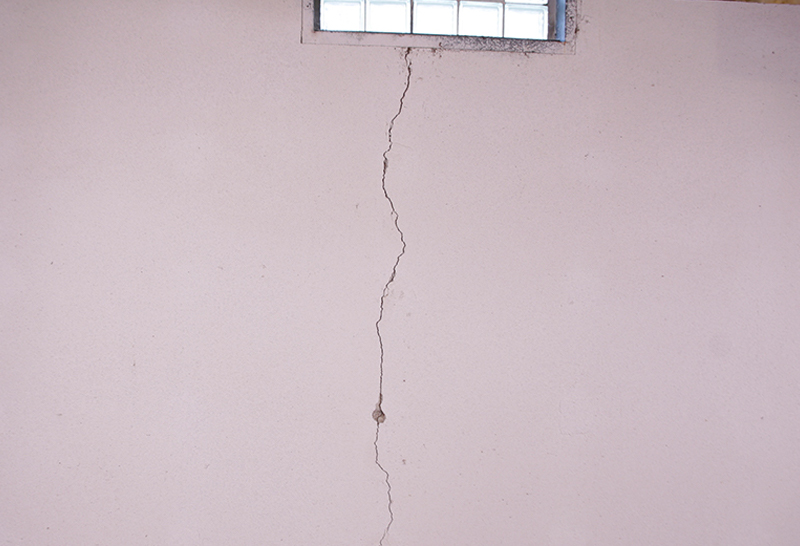 Seal Wall Cracks