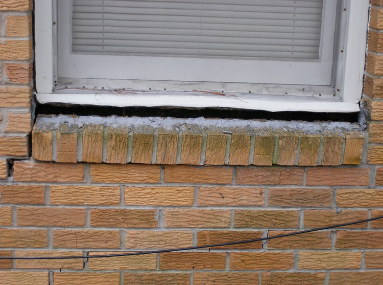 sticking windows and doors