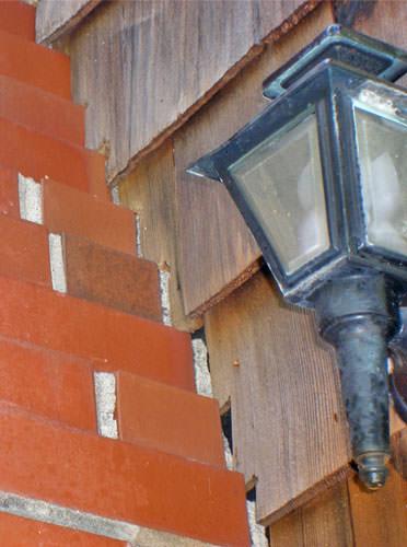 tiling chimney damage