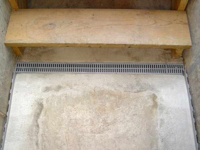 trenchdrain system