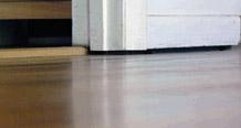 uneven floors