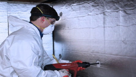crawl space wall insulation