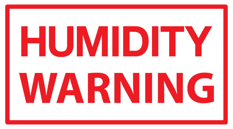 humidity warning
